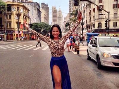 Atriz Miriam Duarte estreia na Tom Maior