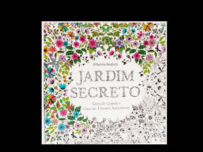 LIVRO JARDIM SECRETO-R$ 29,90-LIVRARIA GUTENBERG