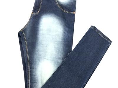 Calça jeans básica de R$119.99 por R$89.99 na Maha Man do Pátio Alcântara.Tel.2601-9143