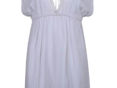 Vestido branco com renda - Riachuelo - R$ 69,90