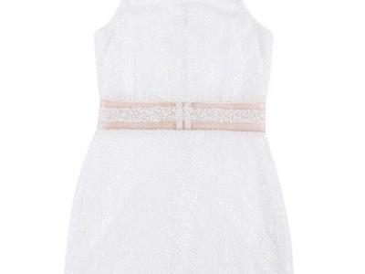 Vestido infantil de paetês - Riachuelo - R$ 89,90
