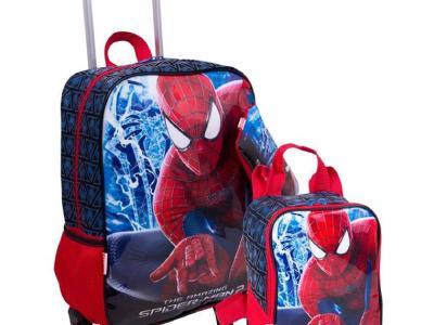 São Gonçalo Shopping_Bagaggio_Kit mochilete, lancheira e estojo Spiderman