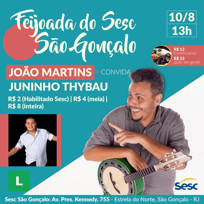 João Martins e Juninho Thybau