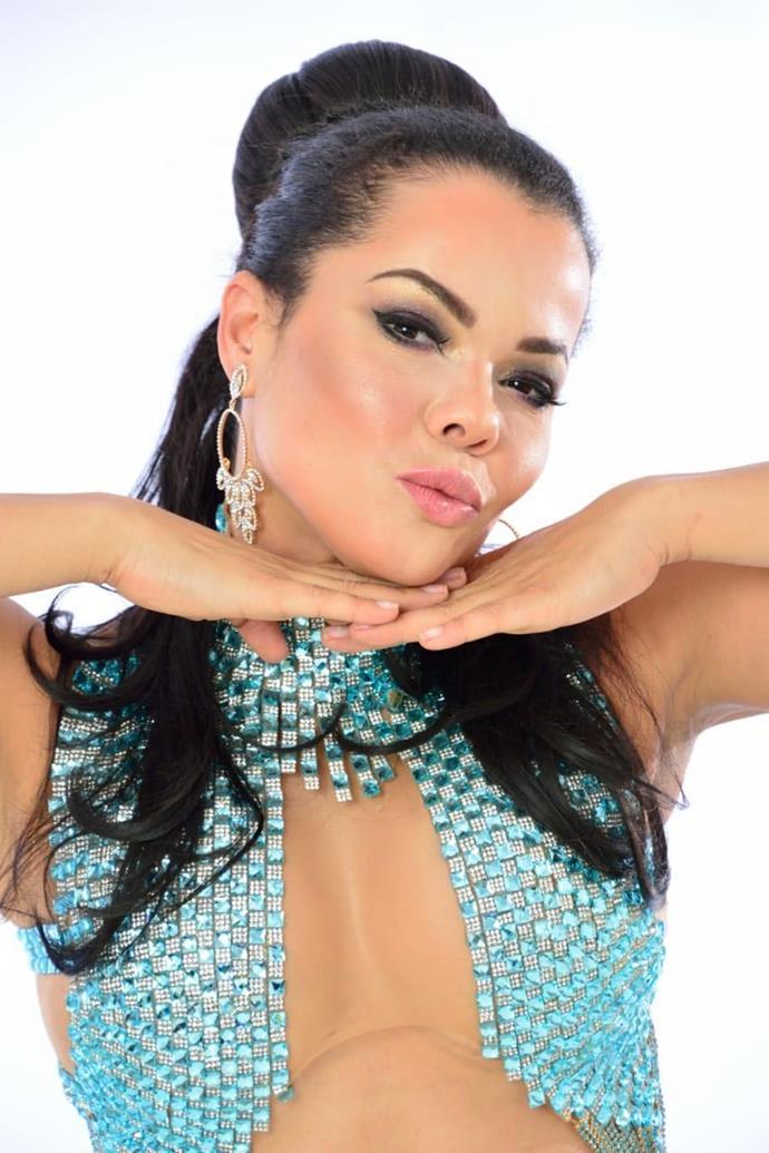 Musa fitness e atriz Michelly Boechat