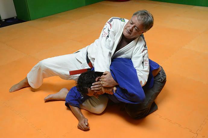 Mestre em Jiu-Jitsu Fernando Pinduka