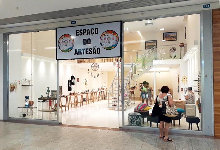 São Gonçalo Shopping - Espaço do Artesão
