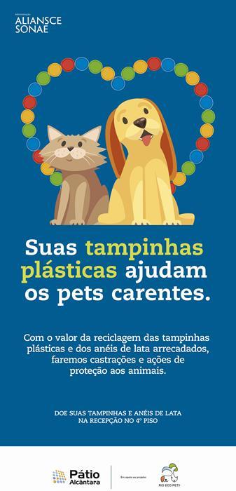 Pátio Alcântara - Campanha Doação Tampinhas