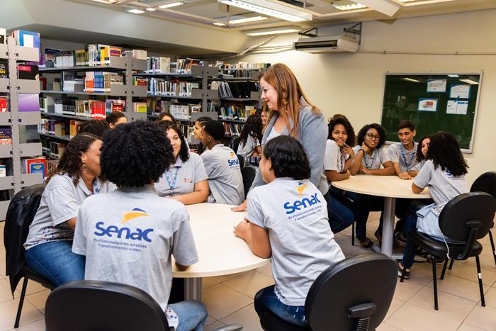 Senac RJ capacita Jovens Aprendizes para as empresas fluminenses